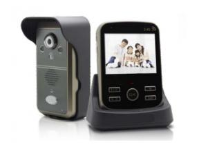 Belaidės video telefonspynės komplektas - 2.4GHz