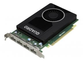 Vaizdo plokštė NVIDIA Quadro M2000 graphics card - Quadro M2000 - 4 GB