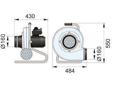 Pramoninis mobilus ventiliatorius N24 2
