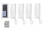 Audio telefonspynės (domofono) komplektas 1AEXD/4