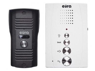 Audio telefonpinė su laivų rankų rageliu Eura ADP-11A3 Balta 2