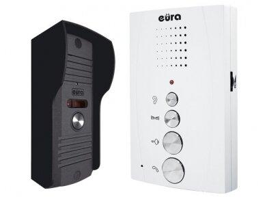 Audio telefonpinė su laivų rankų rageliu Eura ADP-11A3 Balta