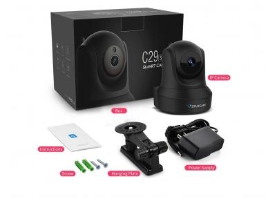 Belaidė Full HD IP video kamera - valdoma - wi-fi 3