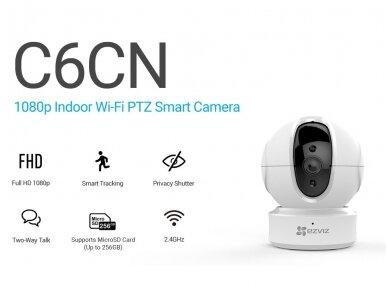 Belaidė IP Full HD Vaizdo Kamera - Valdoma - Wi-Fi - Ezviz C6CN 1080p 2