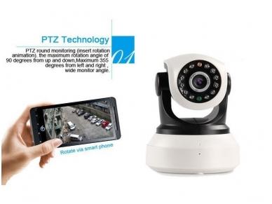 Belaidė IP HD Vaizdo Kamera - Valdoma - Wi-Fi 3