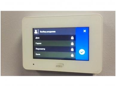 Belaidė klaviatūra Eldes EWKB5 liečiamu, spalvotu LCD ekranu 2