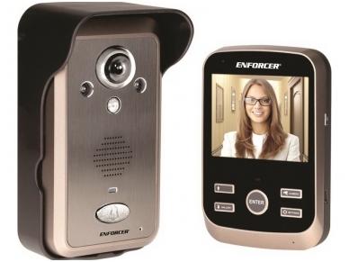 Belaidės video telefonspynės komplektas - 2.4GHz 2