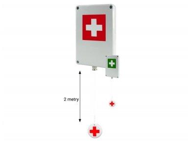 Belaidis komplektas pagalbos iškvietimui sanitariniese patalpuose Gorke TDN-01 4