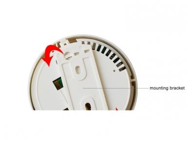 Belaidis dūmų gaisro detektorius LS-TF13 2