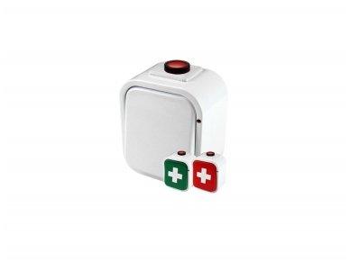 Belaidis mygtukas su atmetimo funkcija (alarm/reset) Gorke PNH-201C 2