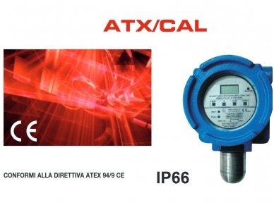 Dujų nuotekio jutiklis sprogiai aplinkai. ATEX sertifikuotas. Belt B40-ATX/CAL02
