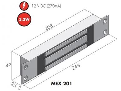 Elektromagnetas MEX 201