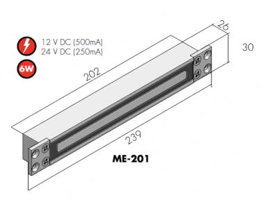 Mini elektromagnetas ME 201