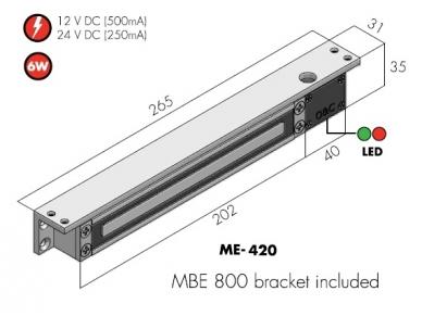 Mini elektromagnetas ME 420