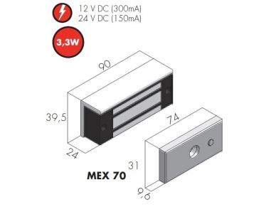 Elektromagnetas MEX 70 2