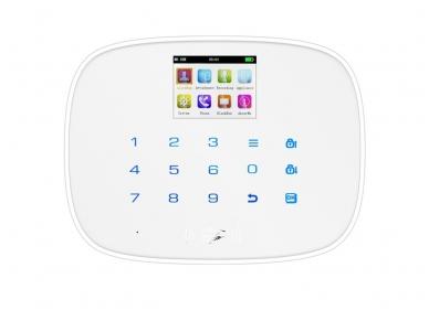 GSM Belaidė apsauginės signalizacijos centralė klaviatūra 2 in 1 H2.10