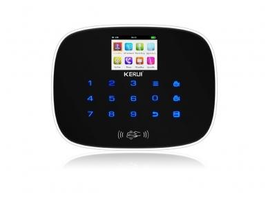 GSM Belaidė apsauginės signalizacijos centralė klaviatūra 2 in 1 H2.10 6