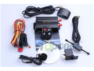 Belaidė GPS GSM GPRS apsaugos sistema transporto priemonei