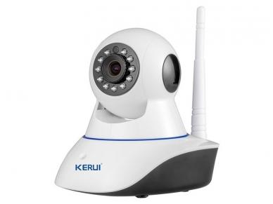 Belaidė IP video kamera - wi-fi signalizacijos sistema 2 in 1