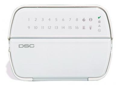 DSC Klaviatūra PK5516 2