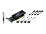 Vaizdo plokštė NVIDIA Quadro K1200 for DVI graphics card - Quadro K1200 - 4 GB