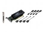 Vaizdo plokštė NVIDIA Quadro K1200 for DVI graphics card - Quadro K1200 - 4 GB