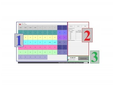 Programinė įranga su staliniu All-In-One kompiuteriu Gorke SPA-1000T 2