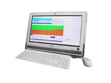 Programinė įranga su staliniu All-In-One kompiuteriu Gorke SPA-1000T