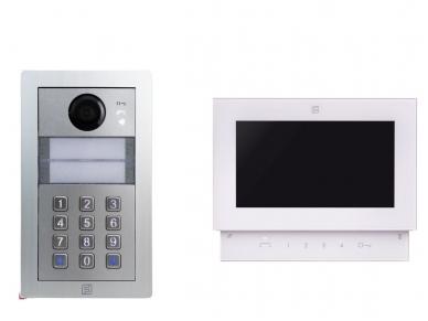 SE4252PDABW Farfisa video komplektas (IP) su PIN klaviatūra