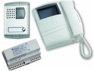 Video telefonspynės komplektas KM8100PLCW