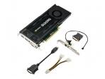 Vaizdo plokštė PNY NVIDIA Quadro K4200, 4GB GDDR5 (256 Bit), DVI, 2xDP
