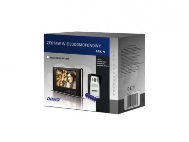 Video telefonspynė su kortelių/pakabukų skaitytuvu OR-VID-VP-1028 2